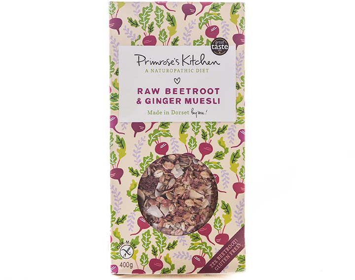 Raw Beetroot and Ginger 400g box