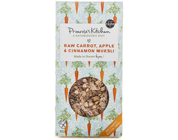 Raw Carrot, Apple and Cinnamon 400g box