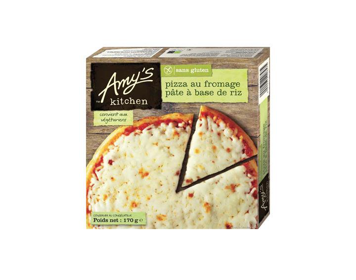 Pizza fromage sans gluten
