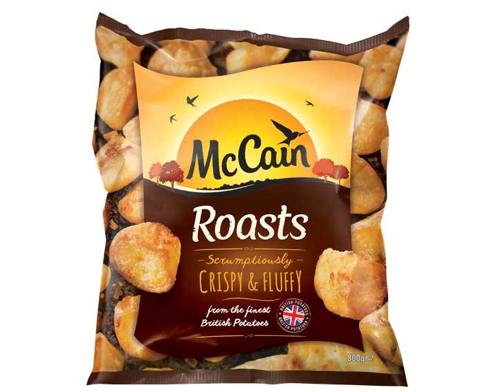 McCain Roasts 800g pack