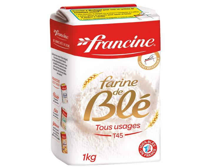 Farine de Blé Tous Usages 1kg