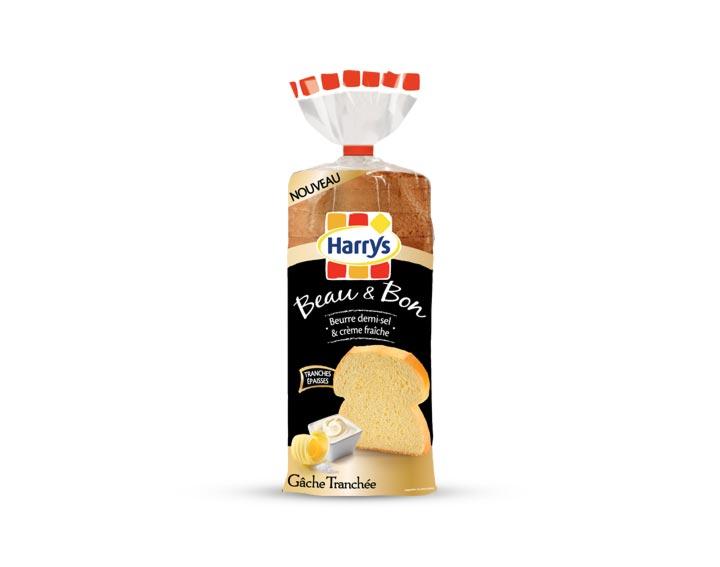 Gâche Tranchée beurre demi-sel & crème fraîche