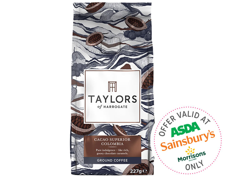 Cacao Superior Colombia Ground Coffee 227g