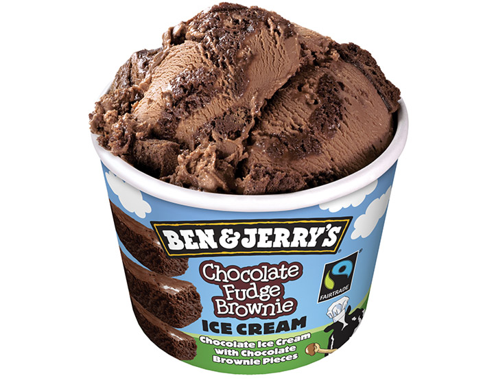 Ben&Jerry's Chocolate Fudge Brownie 150ml