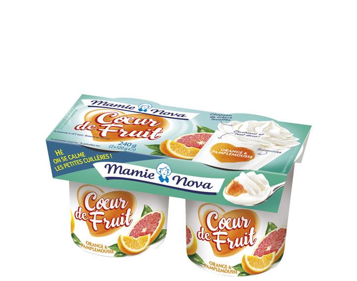 Cœur de Fruit – Orange Pamplemousse