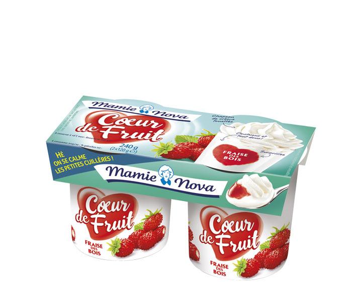 Cœur de Fruit – Fraise des Bois