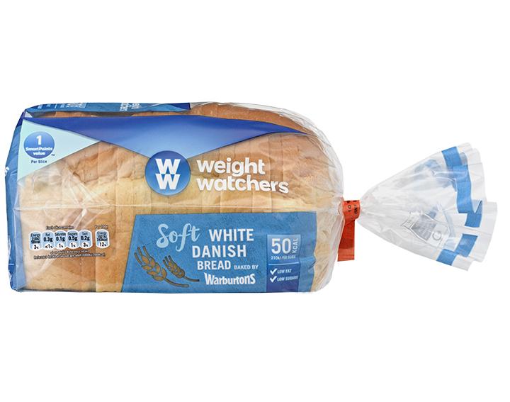 Soft White Danish Bread 400g