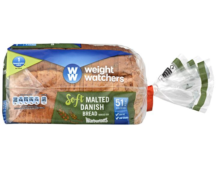 Soft Malted Danish Bread 400g
