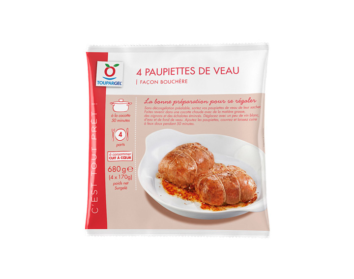 4 paupiettes de veau