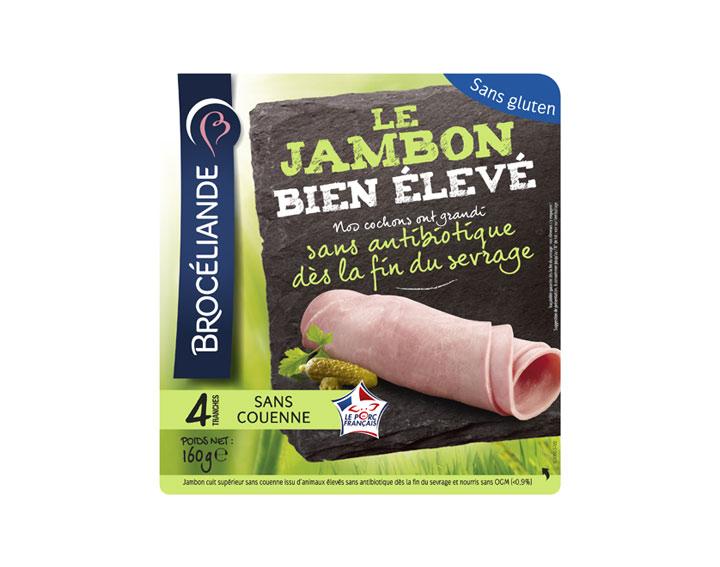 Le jambon Bien Élevé - 4 tranches