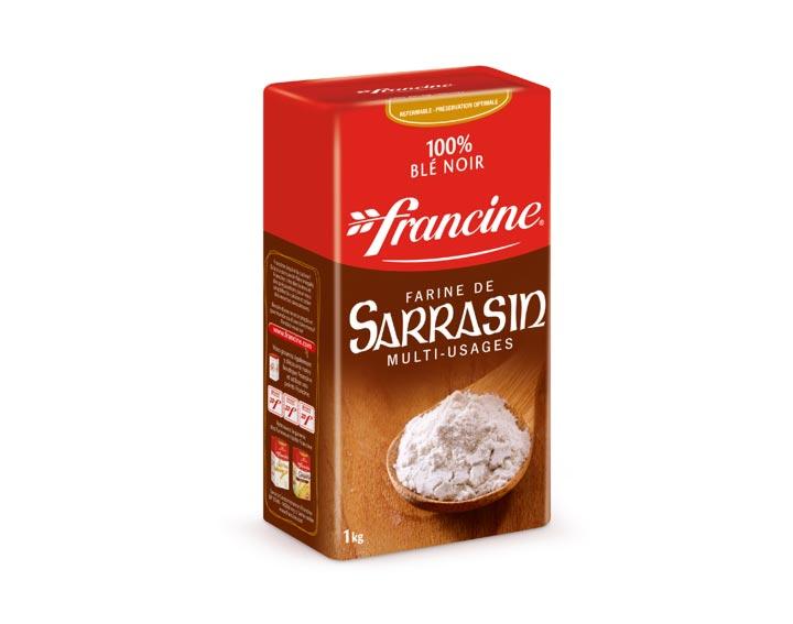 La Farine de Sarrasin 1kg - Francine