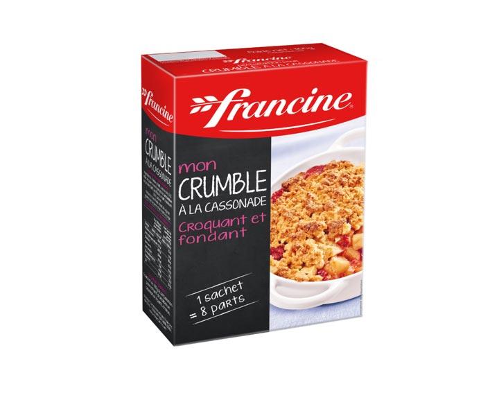 Mon Crumble à la Cassonade - Francine