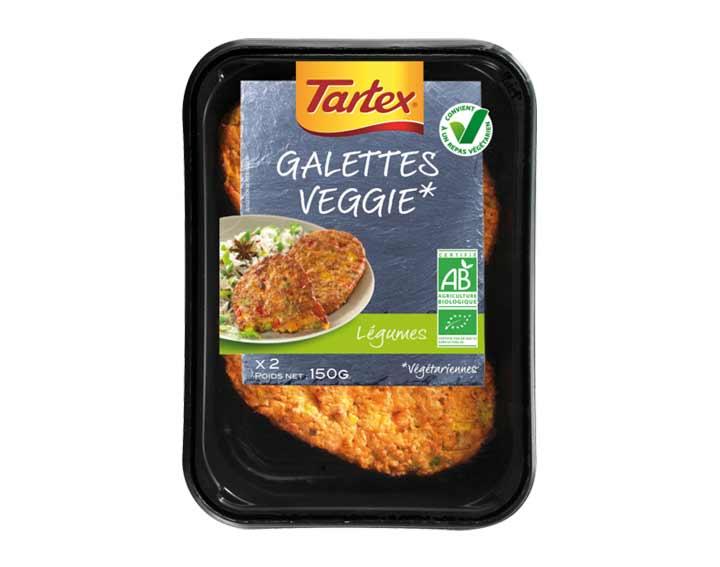 Galettes aux légumes Veggie