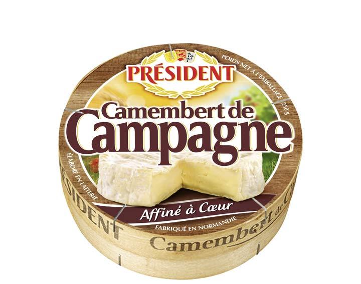 Camembert de Campagne Président