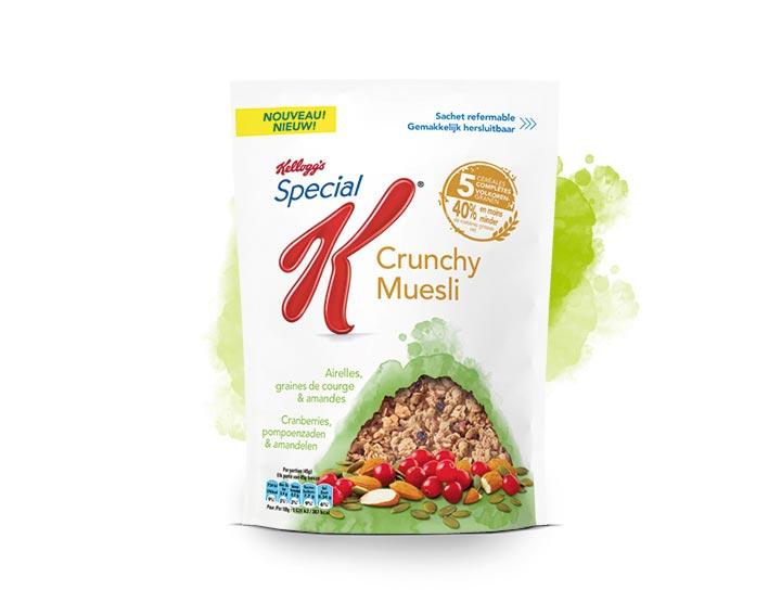 Special K Crunchy Muesli  Airelles, graines de courge & amandes