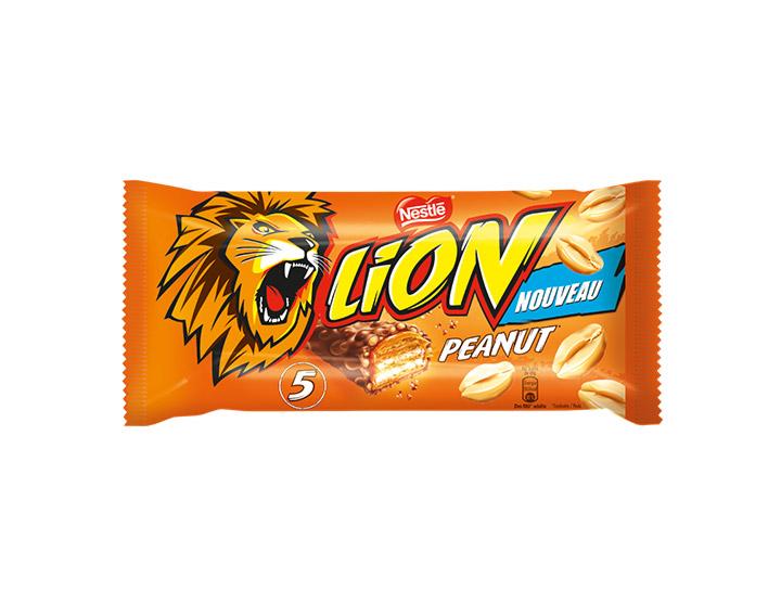 LION® Peanut 5 barres de 41g