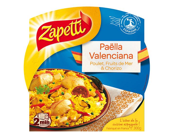 Paëlla Valenciana Poulet, Fruits de Mer et Chorizo