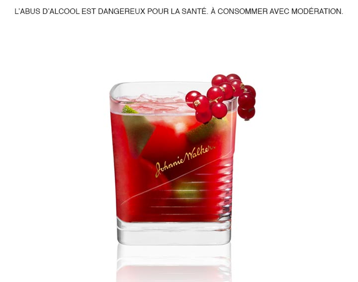 Découvrez le cocktail Johnnie Walker Black Caïpi