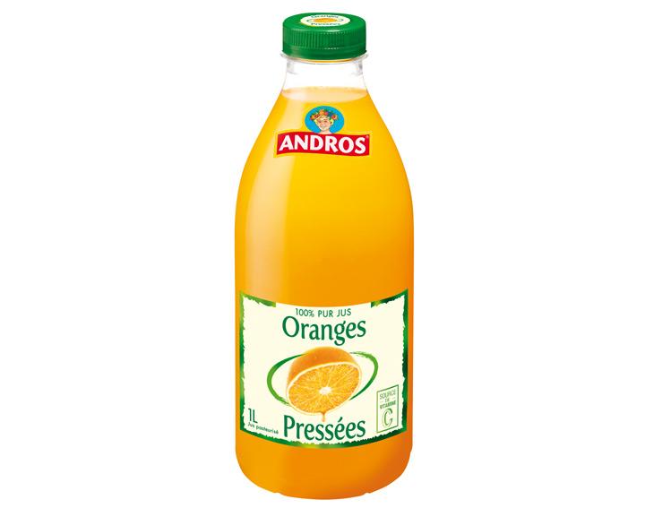 100% pur jus d'Oranges 1L