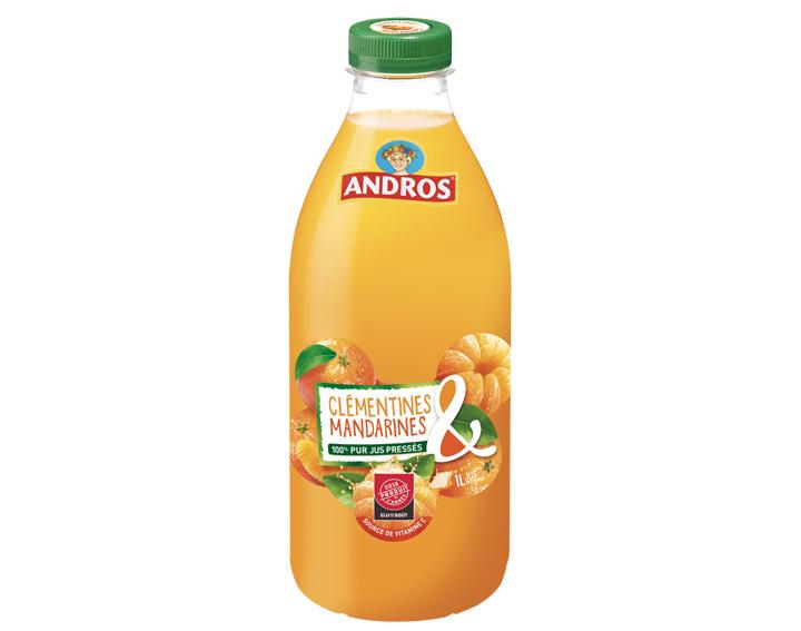 100% pur jus de Clémentines & Mandarines 1L