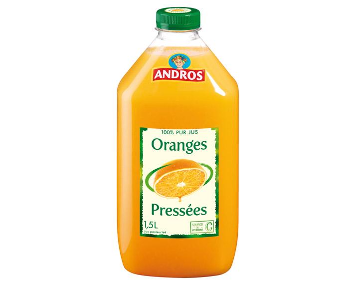 100% pur jus d'Oranges 1,5L