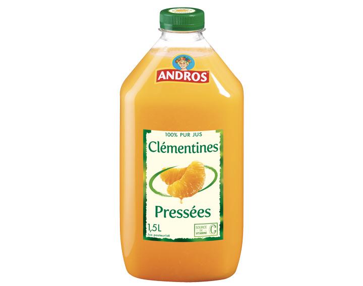 100% pur jus de Clémentines 1,5L