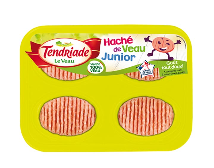 Haché de Veau Junior 4x50g