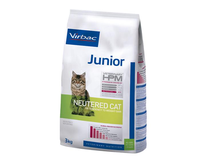 Junior - Neutered (1,5kg ou 3kg)