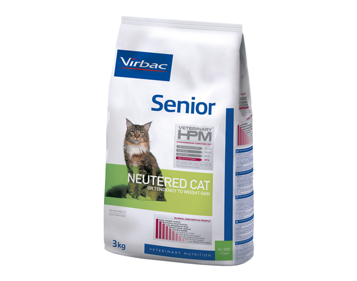 Senior - Neutered (1,5kg, 3kg ou 7kg)