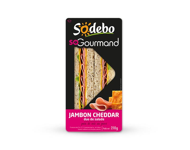 So Gourmand - Jambon Cheddar