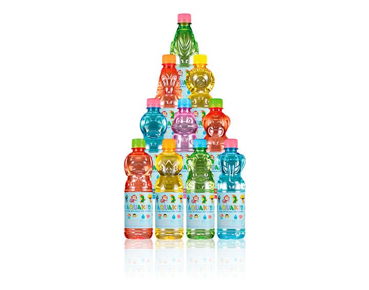 AQUAKID - Les 10 bouteilles-animaux
