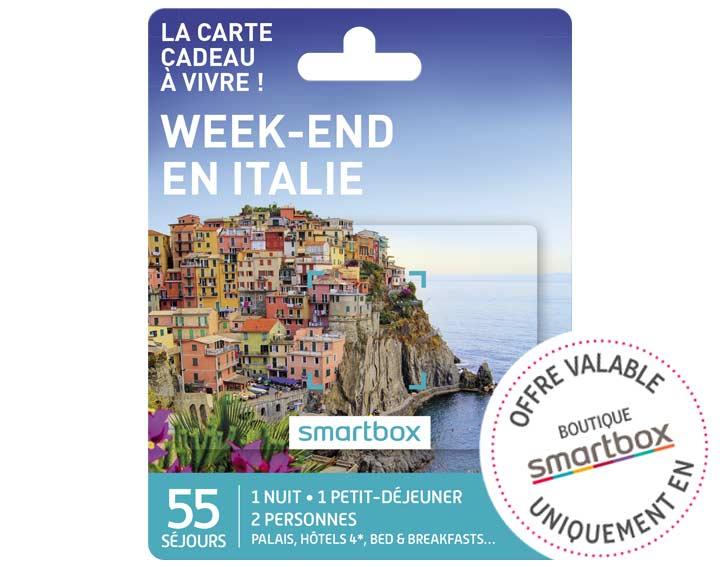 Week-end en Italie (99,90€)
