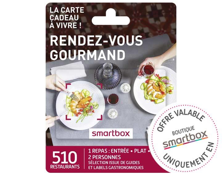 Rendez-vous gourmand (59,90€)