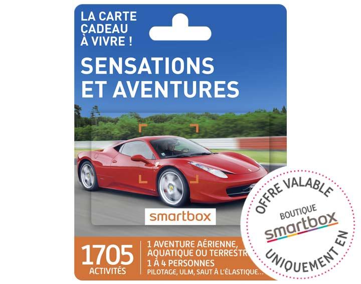 Sensations et aventures (49,90€)