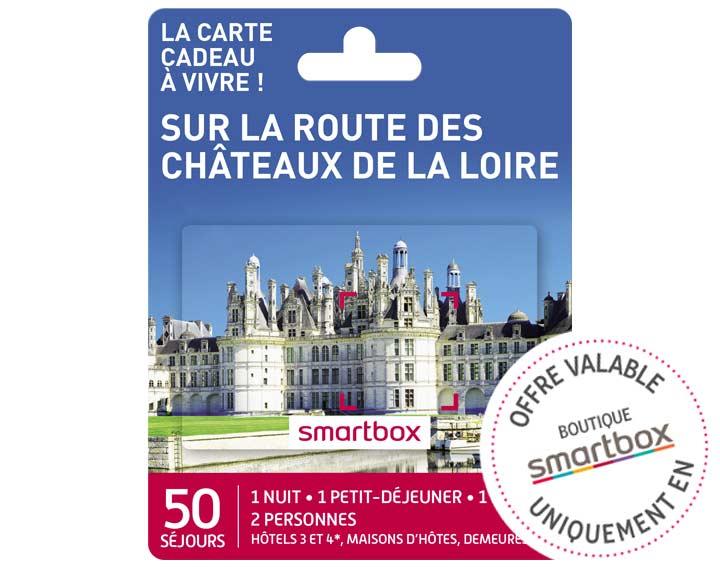 Sur la route des Châteaux de la Loire (119,90€)