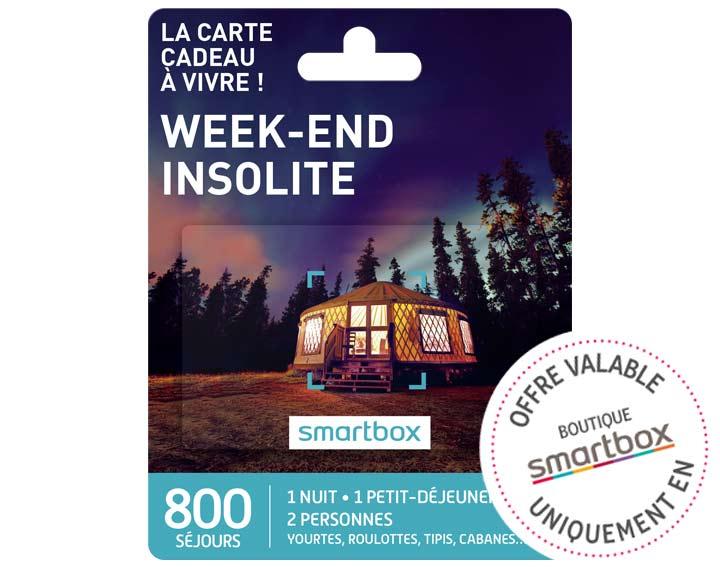 Week-end insolite (69,90€)