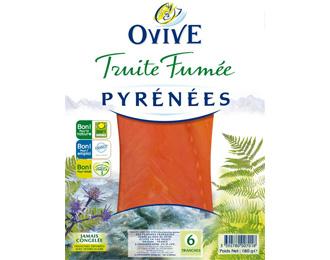 Truite Fumée des Pyrénées 6 tranches 180g