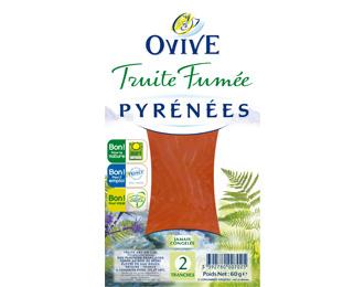 Truite Fumée des Pyrénées 2 tranches 60g