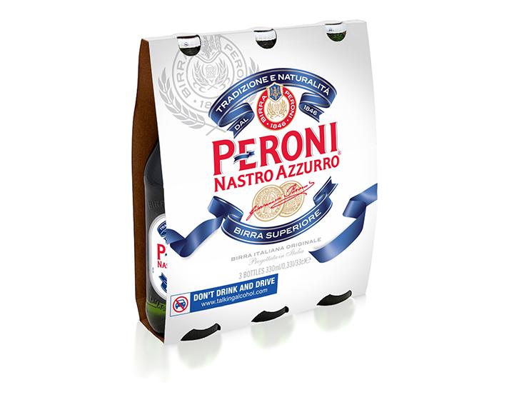 Bière Peroni Nastro Azzurro 3x33cl