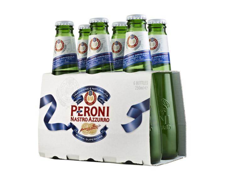Bière Peroni Nastro Azzurro 6x25cl