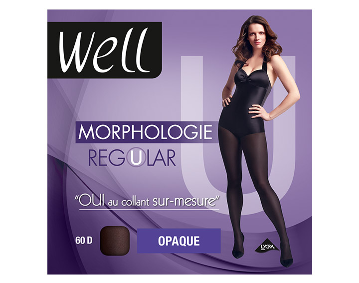 Collant Well Morphologie Regular