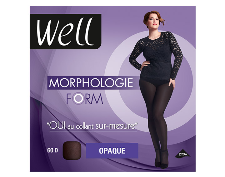 Collant Well Morphologie Form