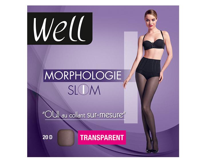 Collant Well Morphologie Slim