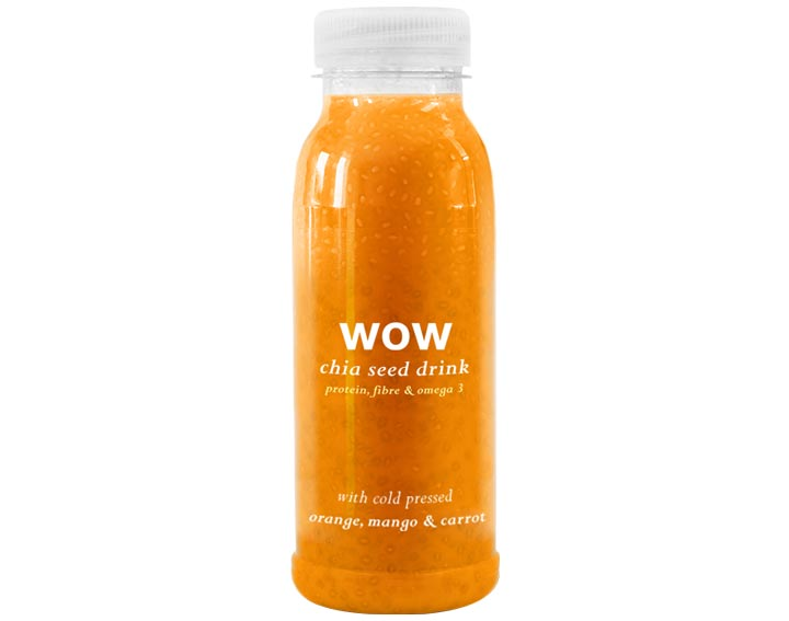 Orange, Mango & Carrot Chia Seed 250ml