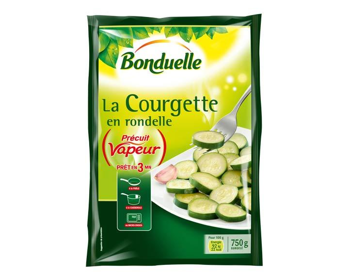 Courgette Précuit Vapeur 750g