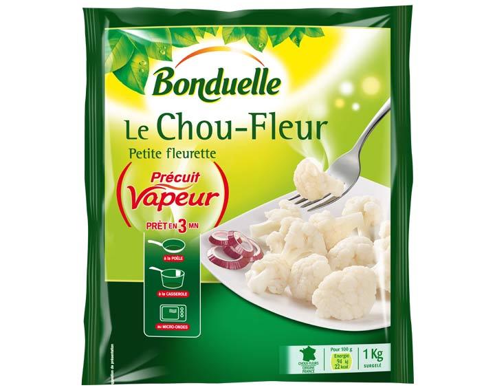 Chou-Fleur Précuit Vapeur 1kg
