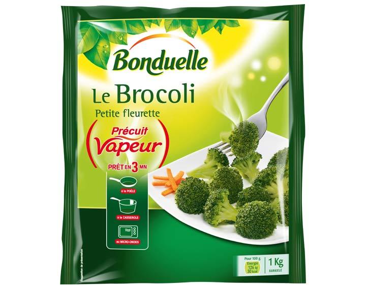 Brocoli Précuit Vapeur 1kg