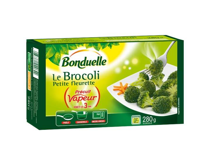 Brocoli Précuit Vapeur 280g