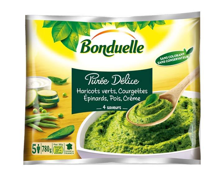 Purée Haricots verts, Courgettes 780g