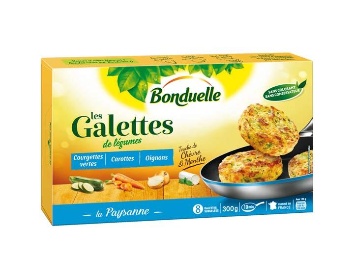 Galettes Courgettes & touche de Chèvre 300g